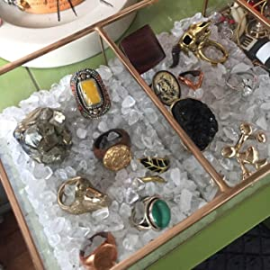 crystal for jewelry collection