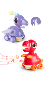 baby musical dinosaur electronic toy moving crawling toddler light infant newborn activity gift