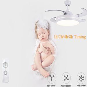 ventilateur de plafond avec telecommande et lumiere led