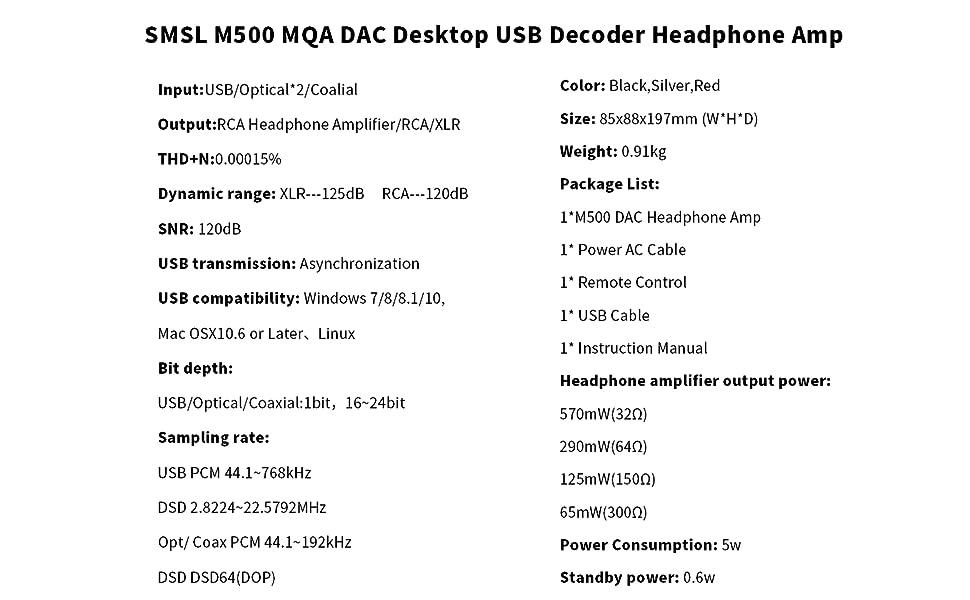 mqa dac smsl dac topping dac coaxial optical dac Stereo audio amp dac digital to analog converter