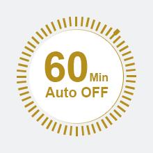 auto off flat iron