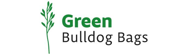 Green Bulldog Bags Reusable Collapsible Grocery Shopping Bags