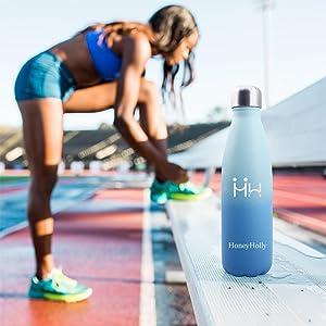 Rellene el agua a tiempo después del ejercicio para mantener la vitalidad.