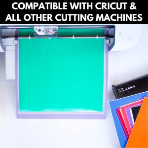 kassa vinyl sheets compatible with crafting machines like cricut