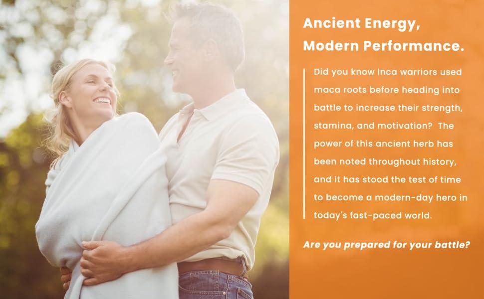 maca energy supplement