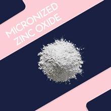 Micronized zinc oxide