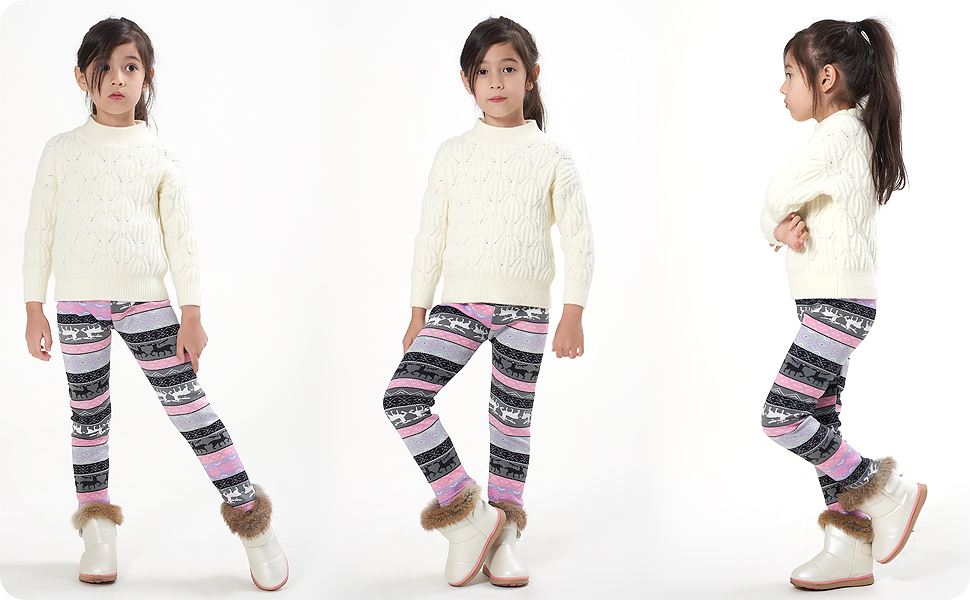 Pantalones impresións con diferentes tops y vestidos.