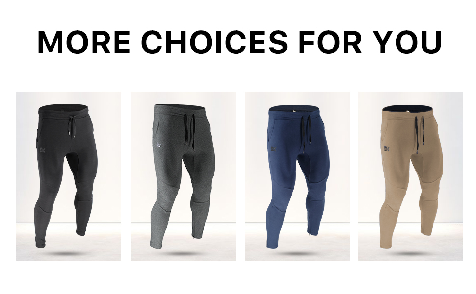 Men's workout and Training Pants with Pockets