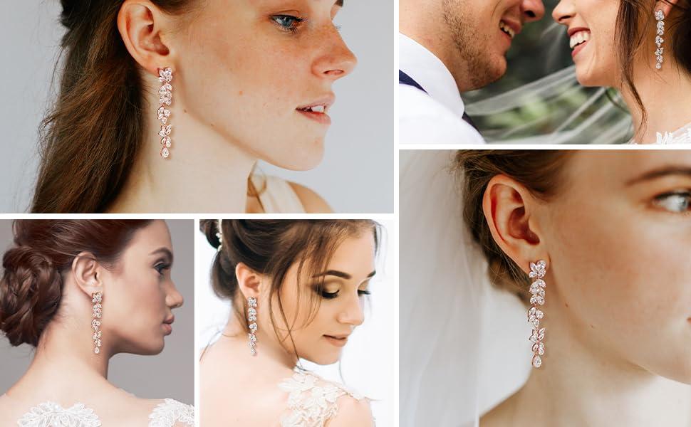 Cubic Zirconia Bridal Jewelry