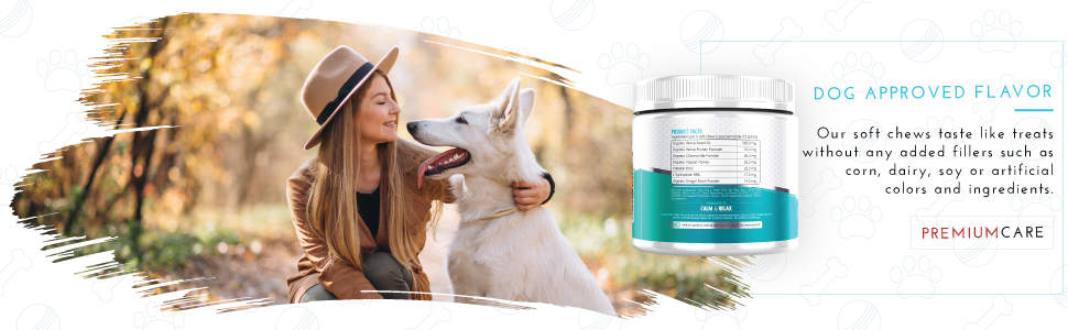 premium care zestypaws dog calming