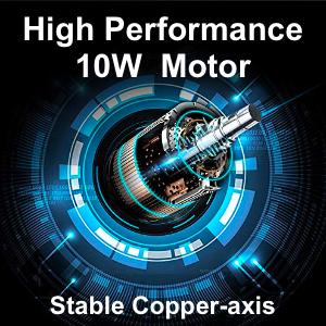 high performance hair clipper 10W motor for a stable and intelligent functionality long lasting