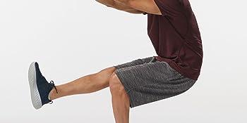 rgear mens no limits 2 in 1 running shorts