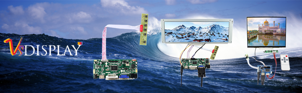 controller board for m170etn01.1 1280x1024 panel screen