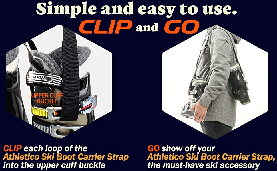 Athletico Ski Boot Carrier Strap Instructions