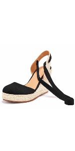 Ankle Wrap Strap Sandals