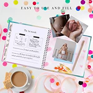 ultrasound photo album for parents new dad gifts from wife pregnancy announcement for grandparents