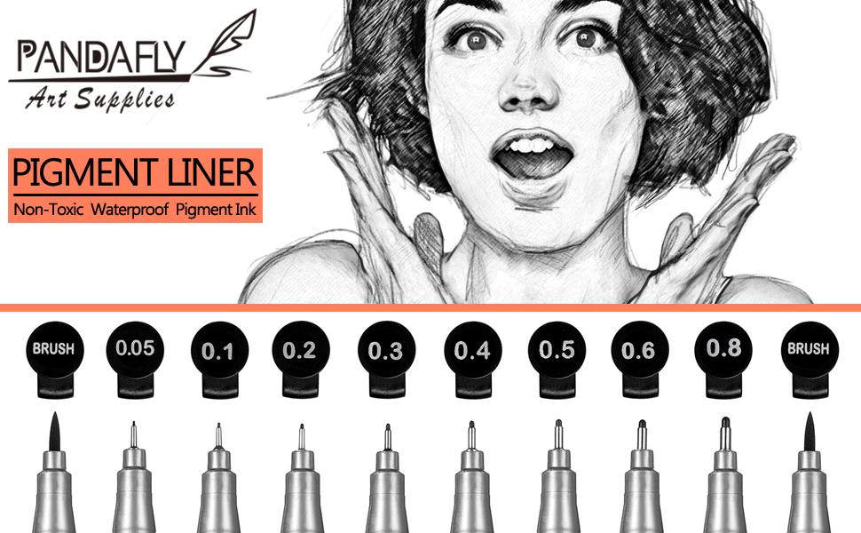 Fineliner Ink Pens