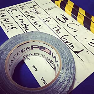 stage film tv gaff tape gaffers professional USA labelling no residue heavy dutypower