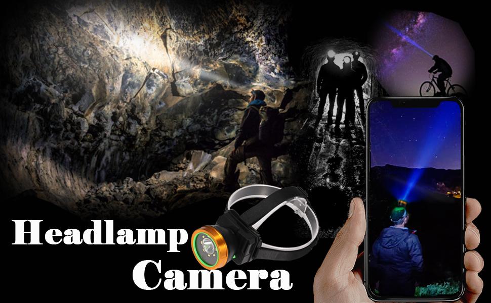 headlamp camera