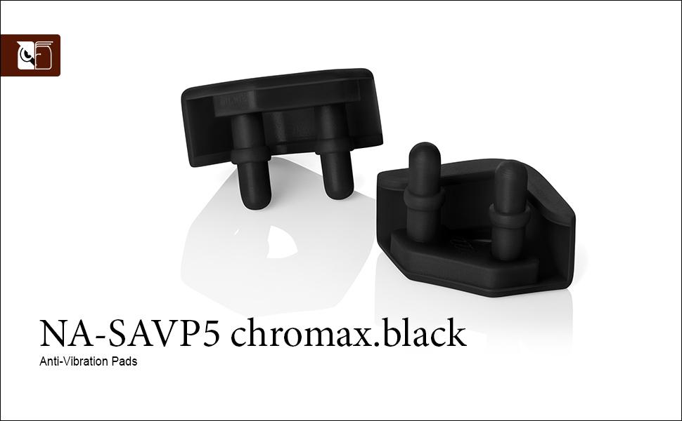 Paneles Anti-Vibraci/ón para Ventiladores 200 mm 16 Unidades, Negro Noctua NA-SAVP6 chromax.Black