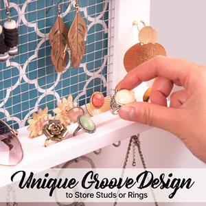 Groove design for Rings,Stud & Earrings