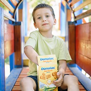 DANALAC Baby Biscuits Snack for Babies Banana