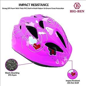 cycle helmet skating adjustable adult children boy cartoon kids girls pink good quality age 10 year