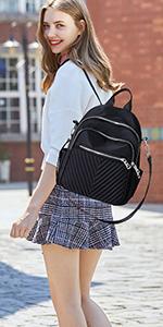 damen rucksack elegant