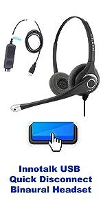 Innotalk Labtop Headset