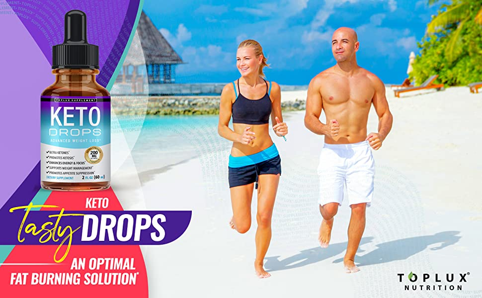 Keto drops ketones toplux supplement ketosis ketones ketogenic