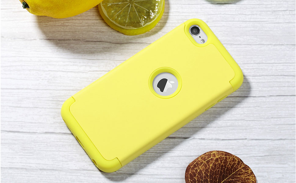 ipod touch 7 case yellow