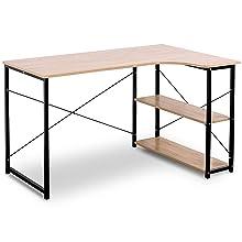 l shape modern desk