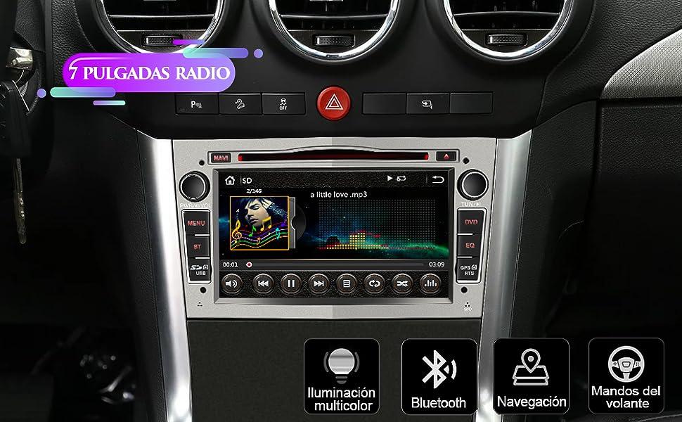 radio Opel Vivaro Antara Vectra Sigum Combo Zafira Astra Corsa Meriva