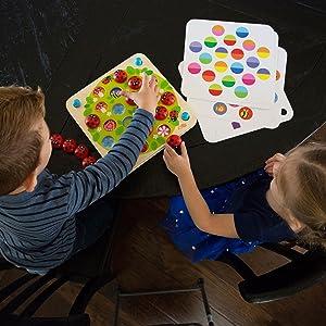 Fat Brain Toys Ladybug's Garden Memory Game
