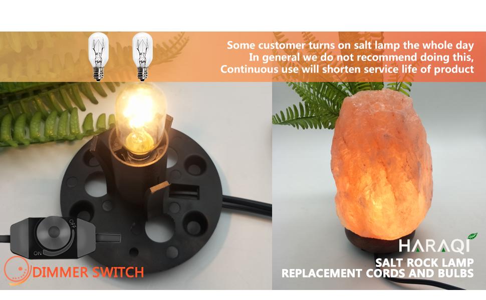 2 Set Salt Lamp Cord