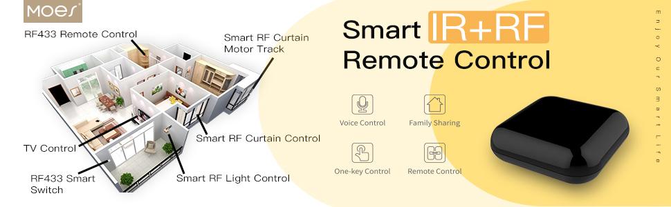 ir rf remote control