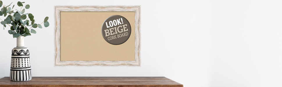 framed wood cork bulletin boards