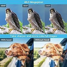 4K Camcorder Vlogging Camera for YouTube Ultra HD 4K 48MP Video Camera