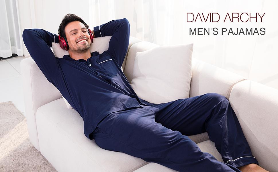 david archy mens sleepwear