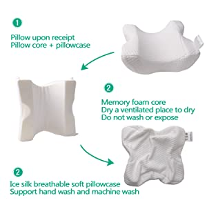 couple pillow for couple arm pillow slow rebound pressure pillow for couples cuddling memory foam
