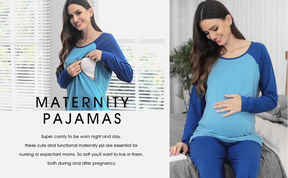maternity pajama sets