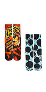 cheetos and cookie socks