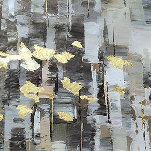 gray painting prints