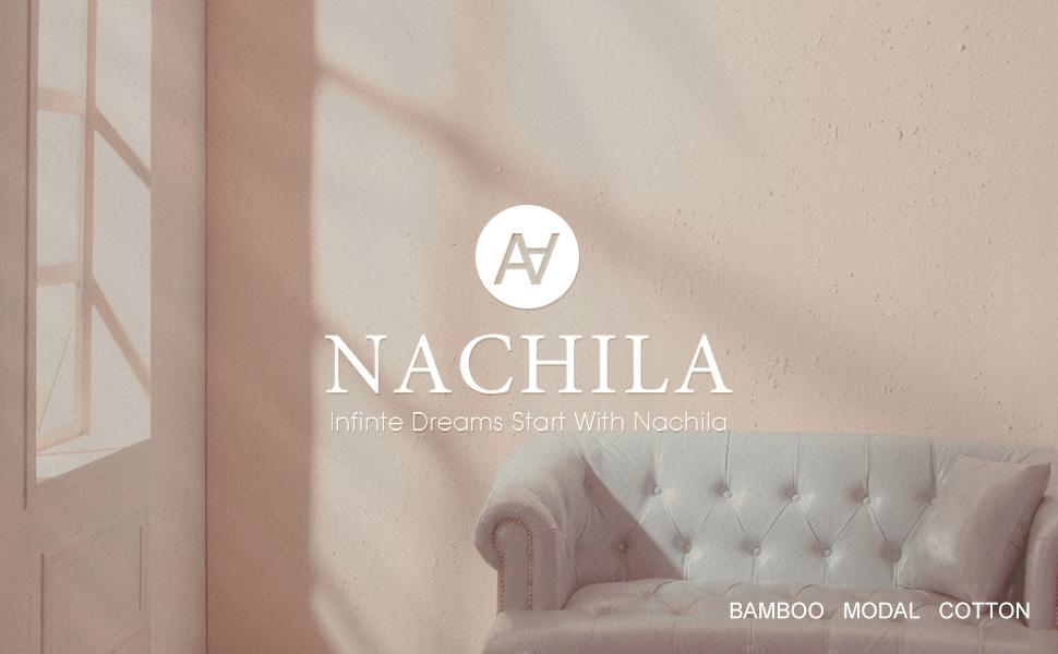 NACHILA  Women's V Neck Full Slip Laced Sexy Chemise Nightgown