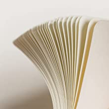 Fanned out blank pages