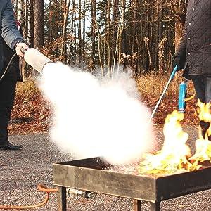 Grupo Cano Lopera   Extintor Universal Polvo Seco ABC con Capacidad de 3 Kg   Homologado   Eficacia 13A - 89B   Útil para Casa - Caravana - Oficina - ...