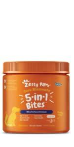 Zesty Paws 5-in-1 Multivitamin Bites
