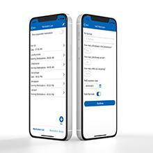 wellbe virtual assistant app, medication management app, senior smartwatch app, elderly health app