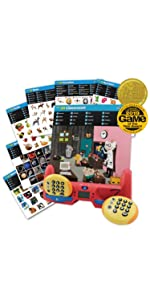 educational learning interactive toy challenging matching game for 1 to 2 players kids