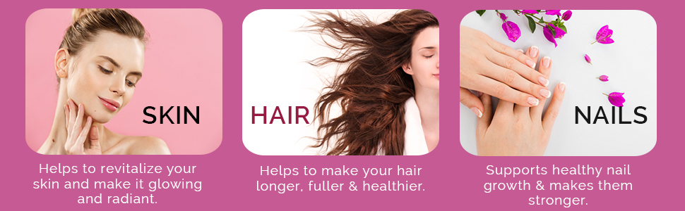 Our gummies increase your hairs health and thickness